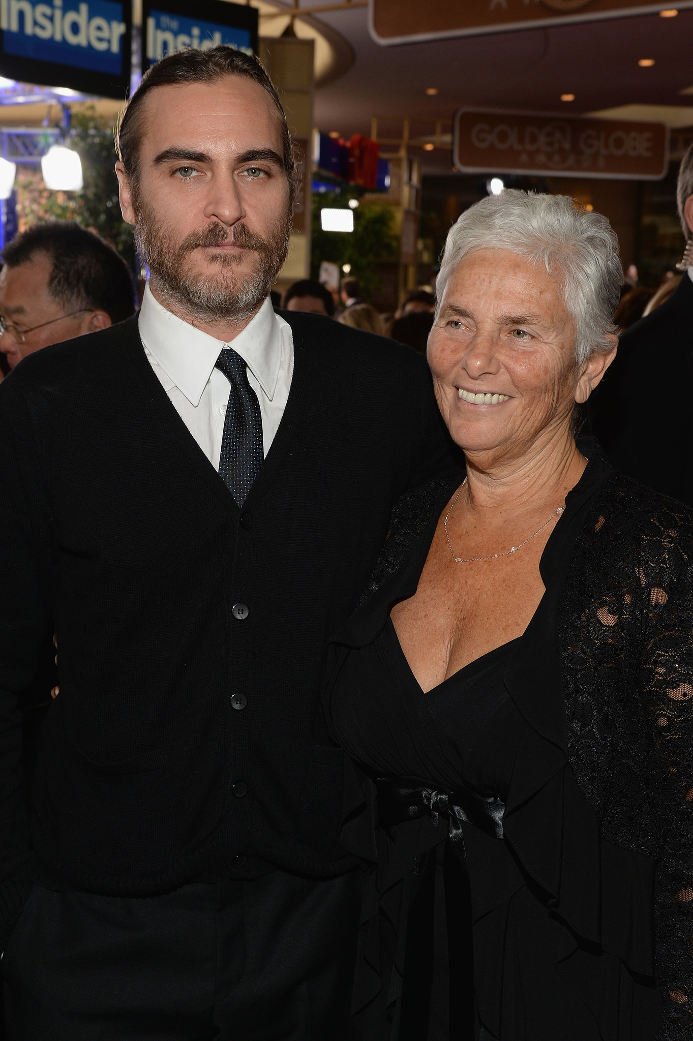 Joaquin Phoenix's mom, Arlyn, was his date to the Golden Globes.