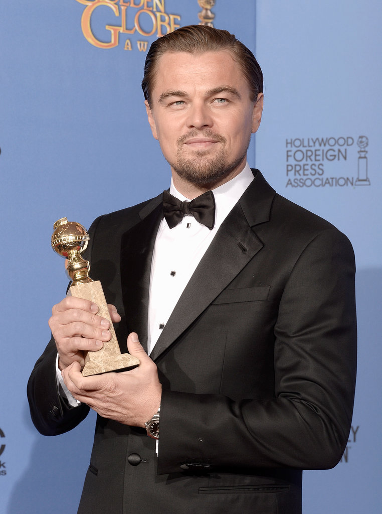 """Like a supermodel's vagina, let's all give a warm welcome to Leonardo DiCaprio."" — Tina being generally hilarious."
