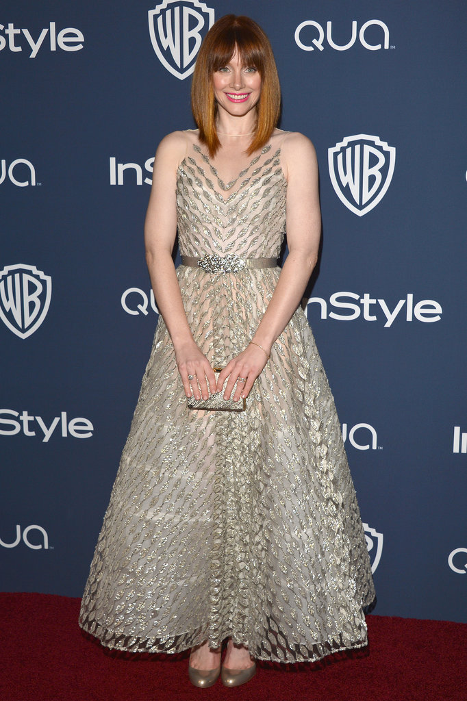 Bryce Dallas Howard showed off a sparkly dress and hot haircut.