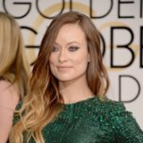 Olivia Wilde Hair and Makeup at Golden Globes 2014