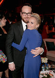 Kristen Chenoweth and Dana Brunetti hugged it out.