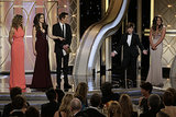 Mr. Golden Globe Steals the Spotlight