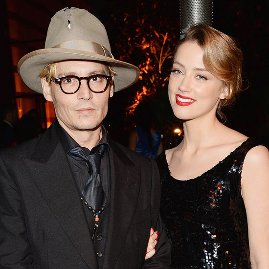 Johnny Depp and Amber Heard at Art of Elysium 2014