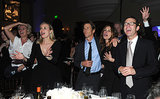 Emma Thompson, Diane Kruger, Danny Moder, and Julia Roberts danced to U2 at the Help Haiti Home bash on Saturday.