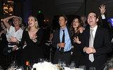 Emma Thompson, Diane Kruger, Danny Moder, and Julia Roberts danced to U2 at the Help Haiti Home bash on Saturday.