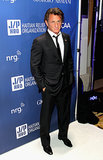 Sean Penn was the man of the hour at the Help Haiti Home event on Saturday.