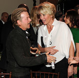 Emma Thompson chatted with David Spade.