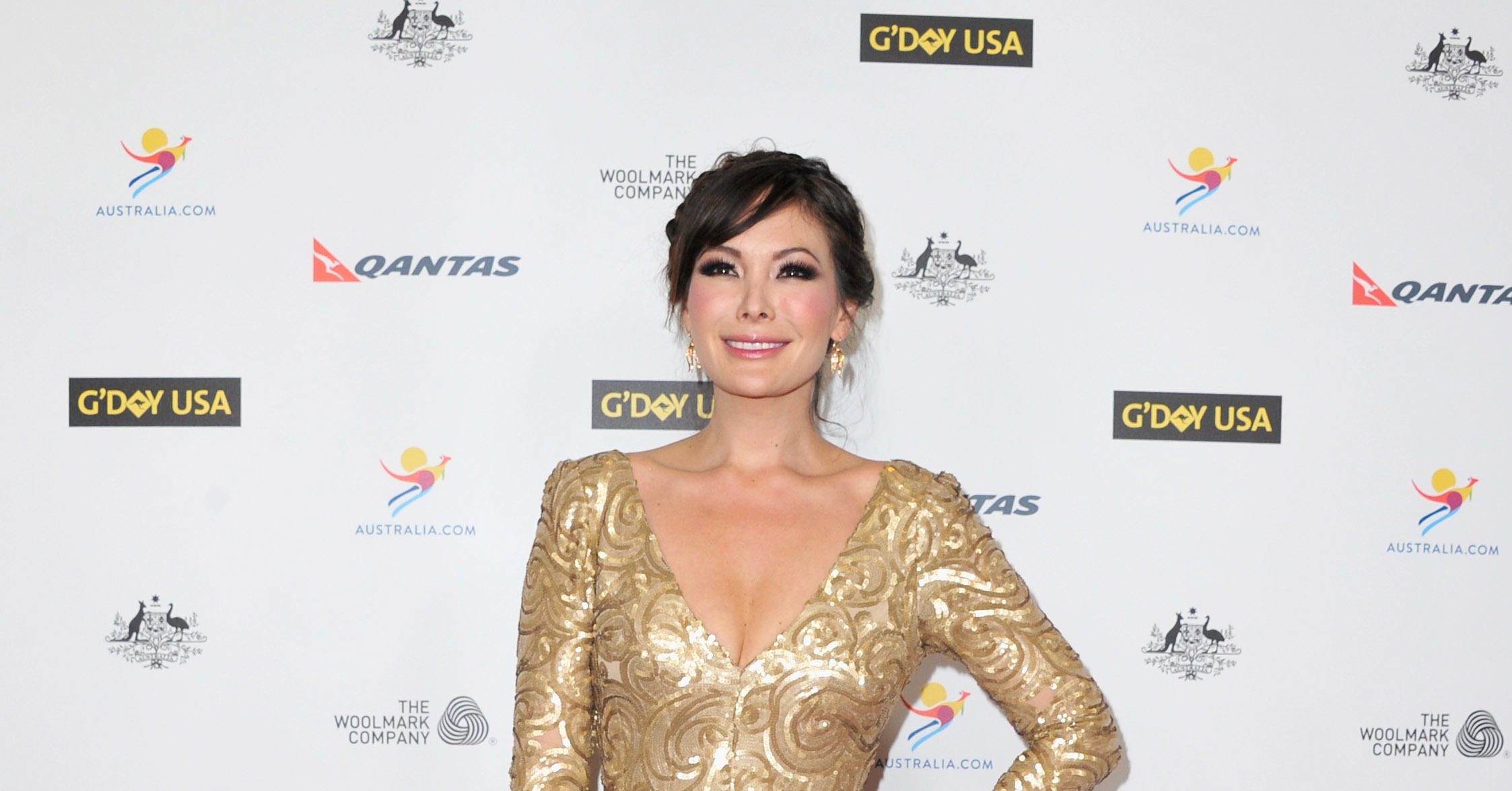 Lindsay Price At The G Day Usa Los Angeles Black Tie Gala