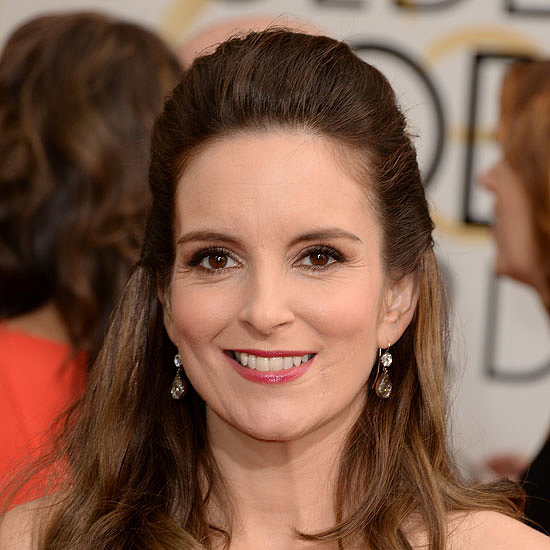 Tina Fey Live on the Red Carpet at the 2014 Golden Globes