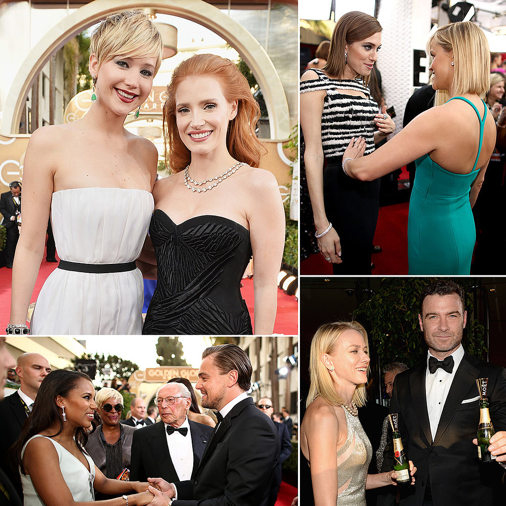 Candid Celebrity Pictures From 2014 Golden Globes Red Carpet