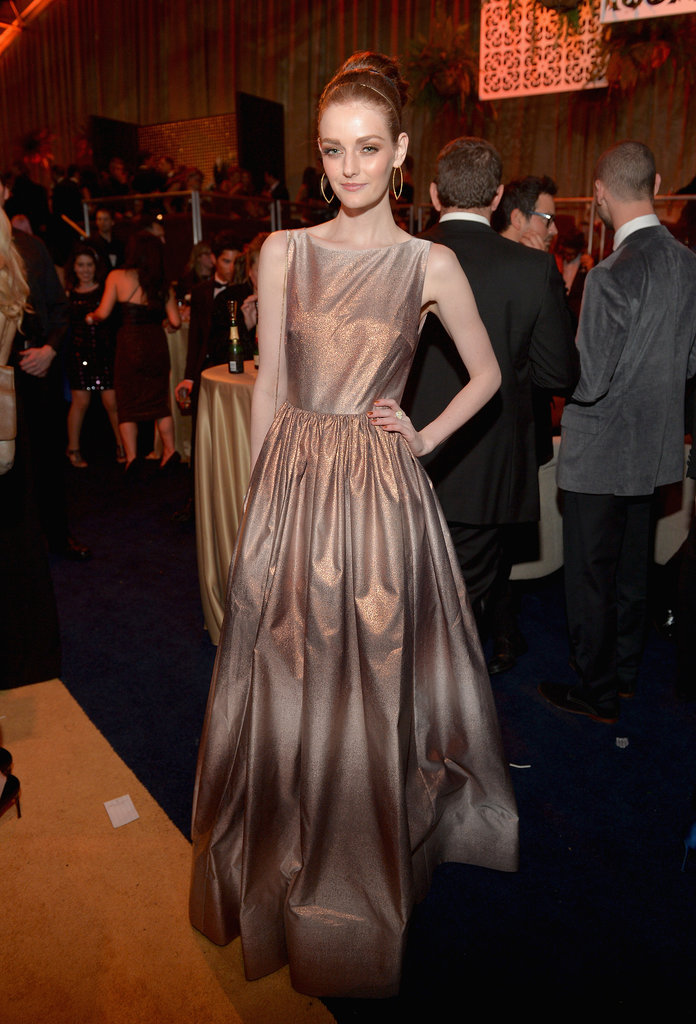 Lydia Hearst at the Netflix Golden Globes Afterparty