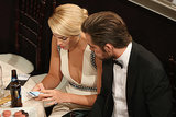 Margot Robbie and Chris Pine looked at her phone. Source: Christopher Polk/NBC/NBCU Photo Bank/NBC
