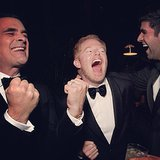 "Jesse Tyler Ferguson joked that he and Ty Burrell were the ""happiest losers you ever met."" Source: Instagram user jessetyler"