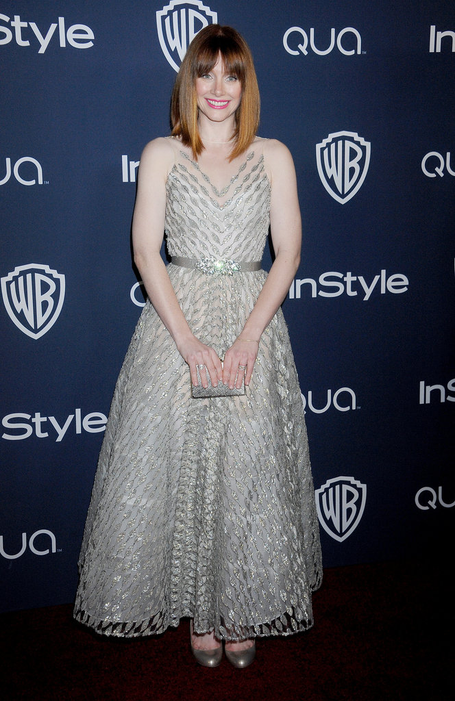 Bryce Dallas Howard at the InStyle Golden Globes Afterparty