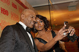 He Snapped Selfies With Angela Bassett