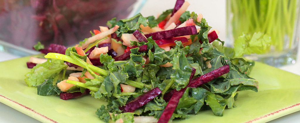 Richard Blais's Beet and Apple Salad With Mustard Dressing