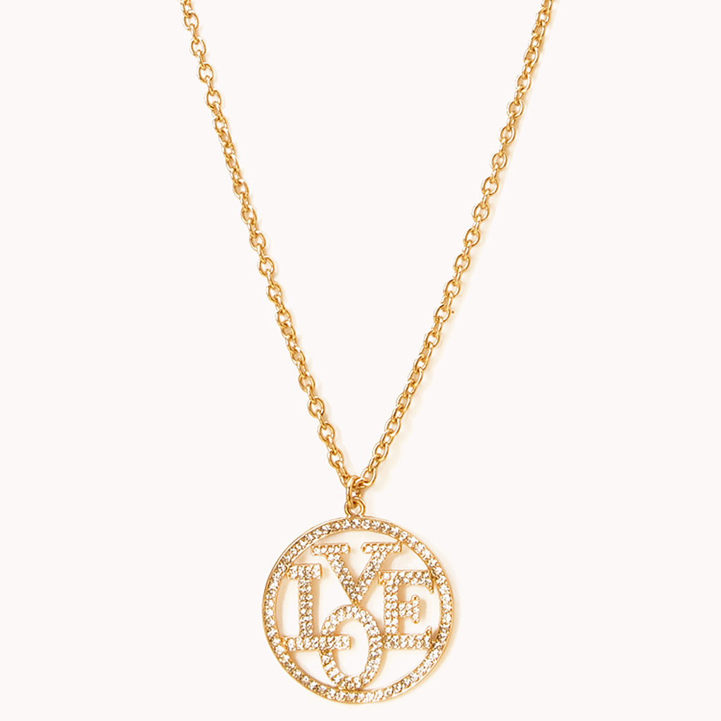 Forever21 Love Pendant Necklace