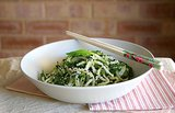 Cucumber Mint Noodles With Ginger Dressing