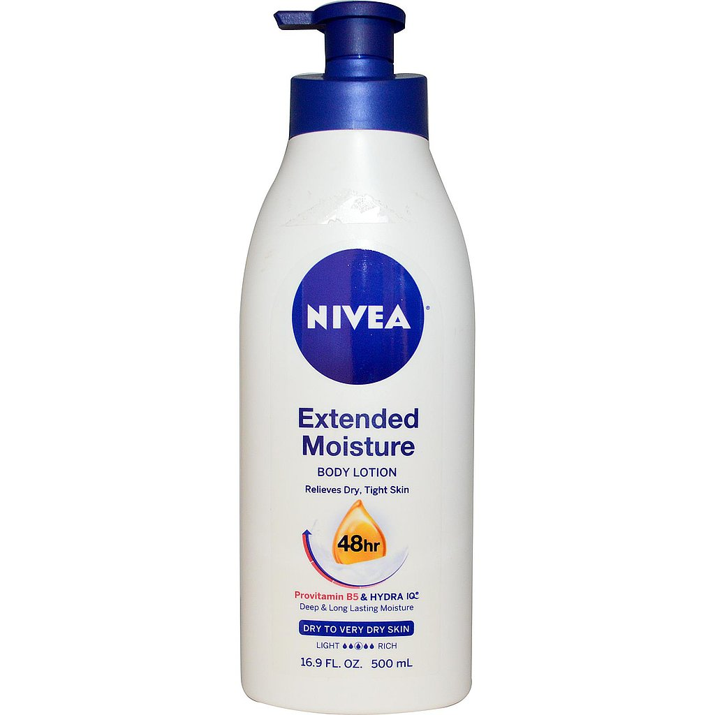 Nivea Extended Moisture ($8) is perfect for the busy girl. Swipe it on, and watch your skin stay smooth for 48 hours!