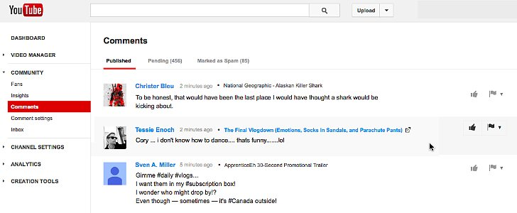 Notice a Change in the Wild World of YouTube Commenting?