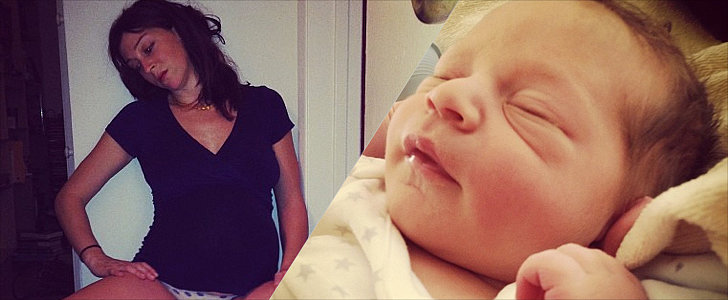 Laboring Mom Live Tweets and Instagrams the Highs and Lows of Her Home Birth