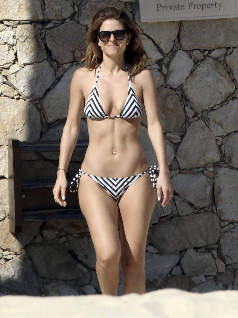 Maria Menounos showed off her amazing body in Los Cabos, Mexico, in January 2014.