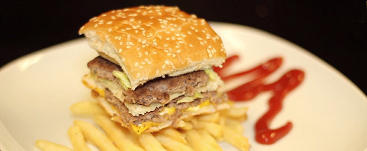 "Watch a Big Mac Turn Into a Gourmet ""Le McCube"" in 5 Seconds"