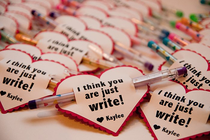 Just Write Valentine