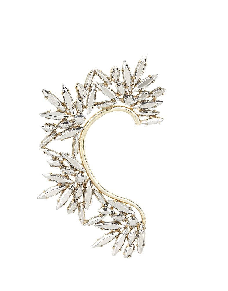 BCBG Max Azria Floral-Stone Ear Cuff ($38)