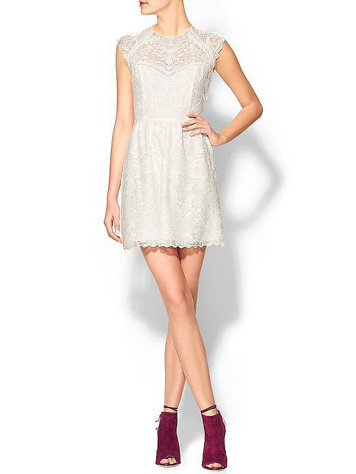 Dolce Vita Winsor Organza White Lace Dress