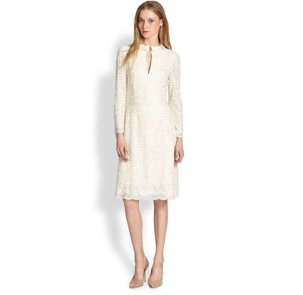 Marc by Marc Jacobs Lancaster White Lace Dress