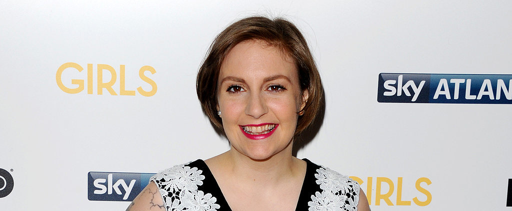 Lena Dunham Takes On a Hot-Pink Pout: Yay or Nay?