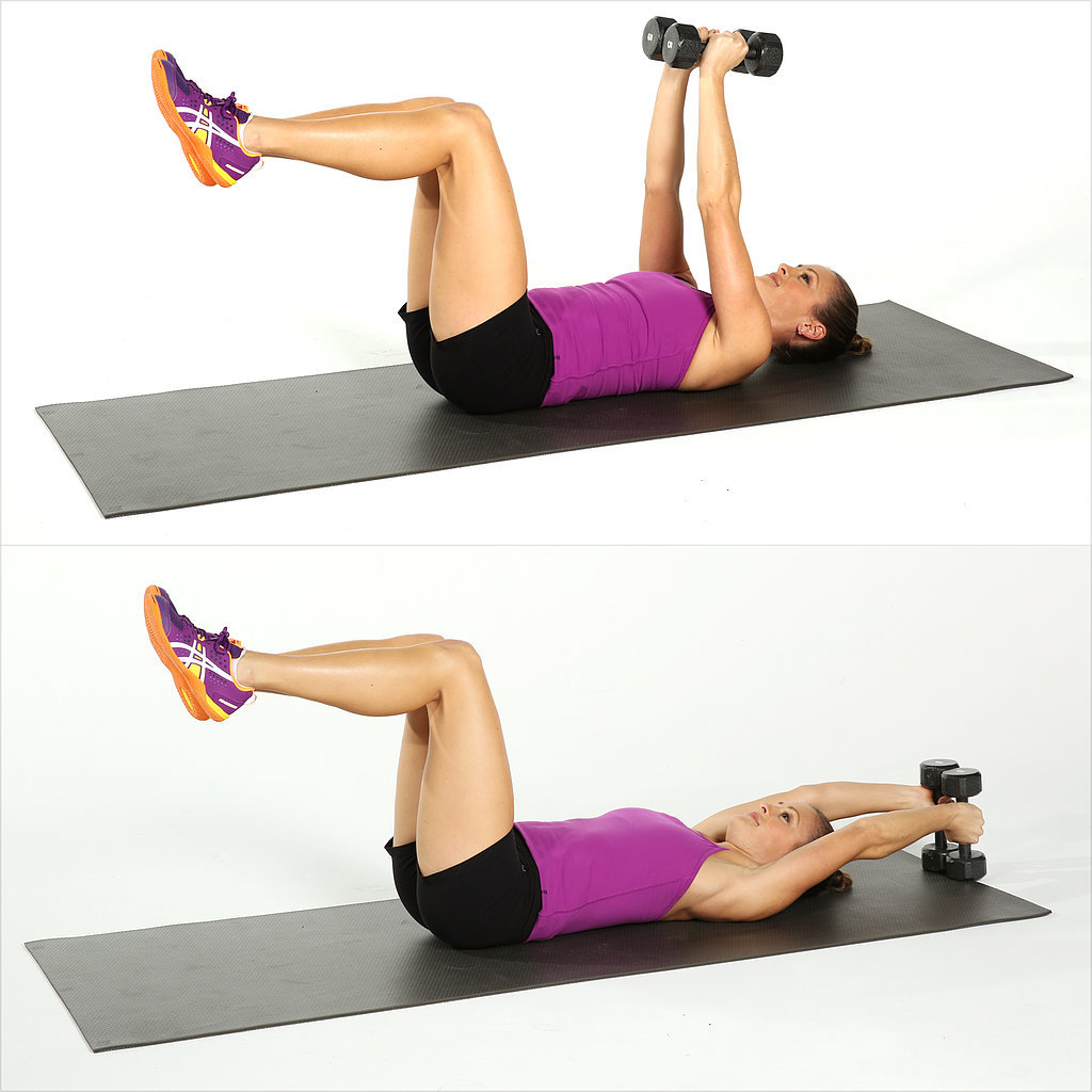 Weight training for women dumbbell circuit workout for Floor y raise