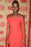 Lupita Nyong'o is nominated for 12 Years a Slave, and she'll be presenting as well this year.