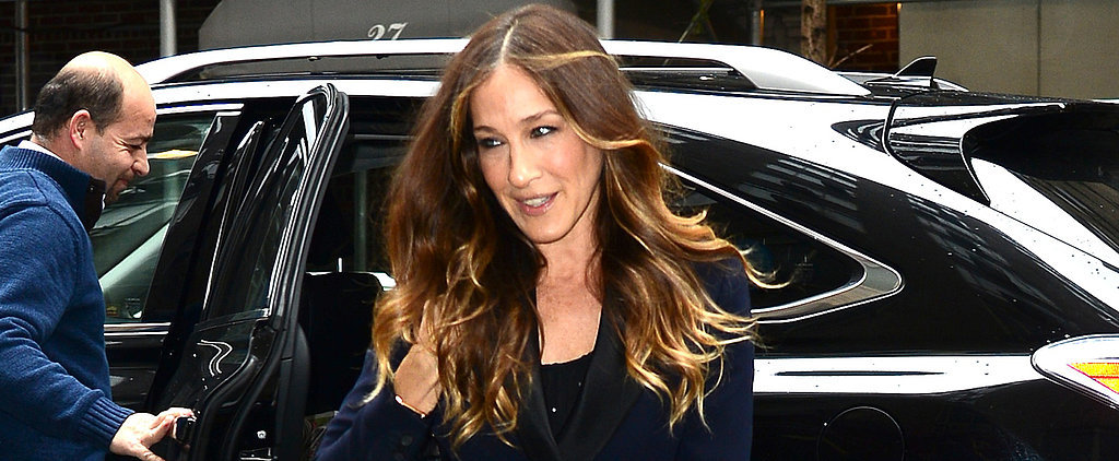 Twist Yourself a Chic Topknot, Sarah Jessica Parker Style