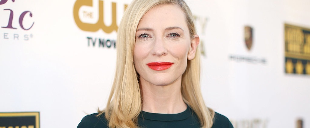 Vote: Cate Blanchett's the Latest Orange-Lipstick Lover