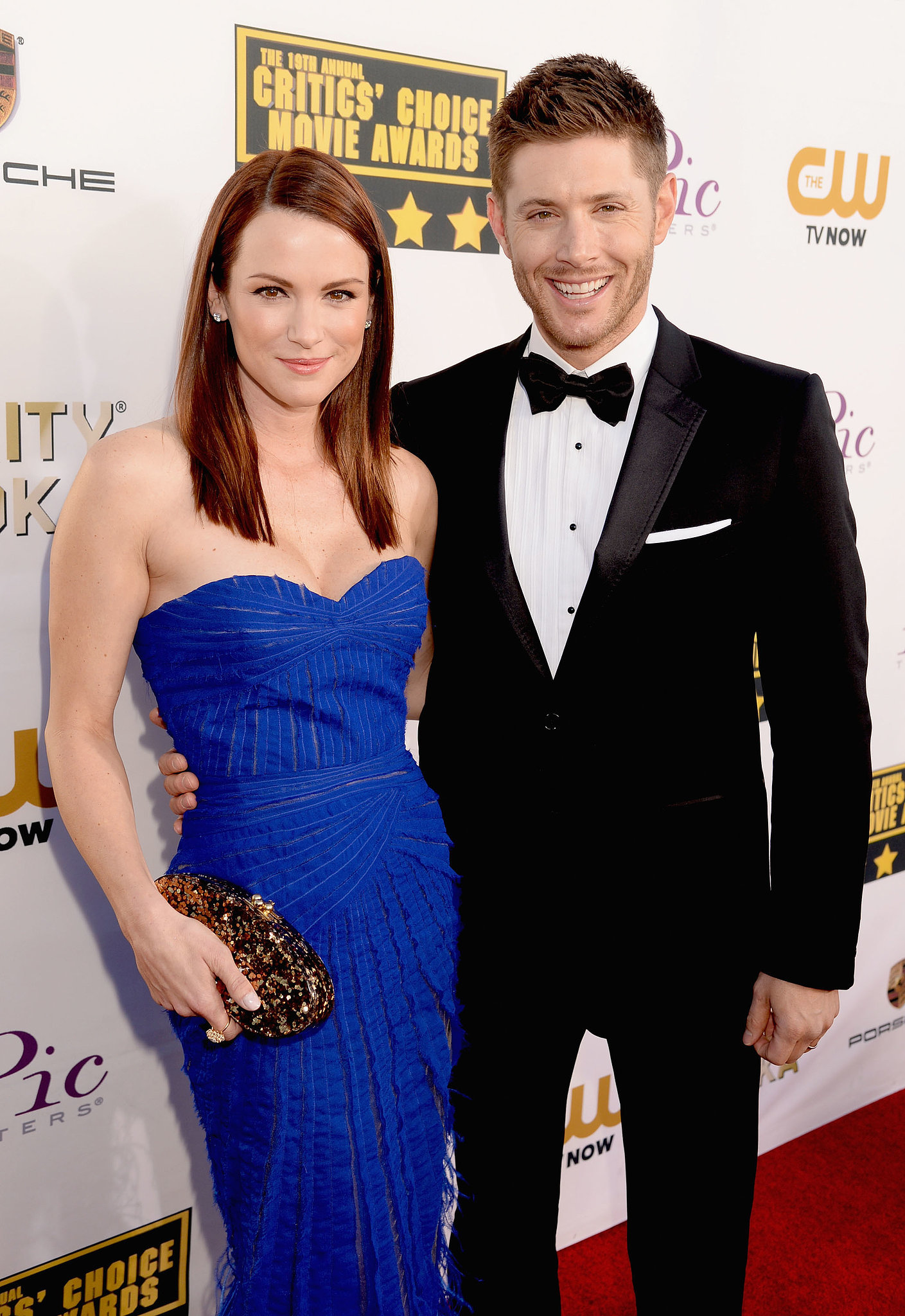 Danneel and Jensen Ackles attended the Critics' Choi