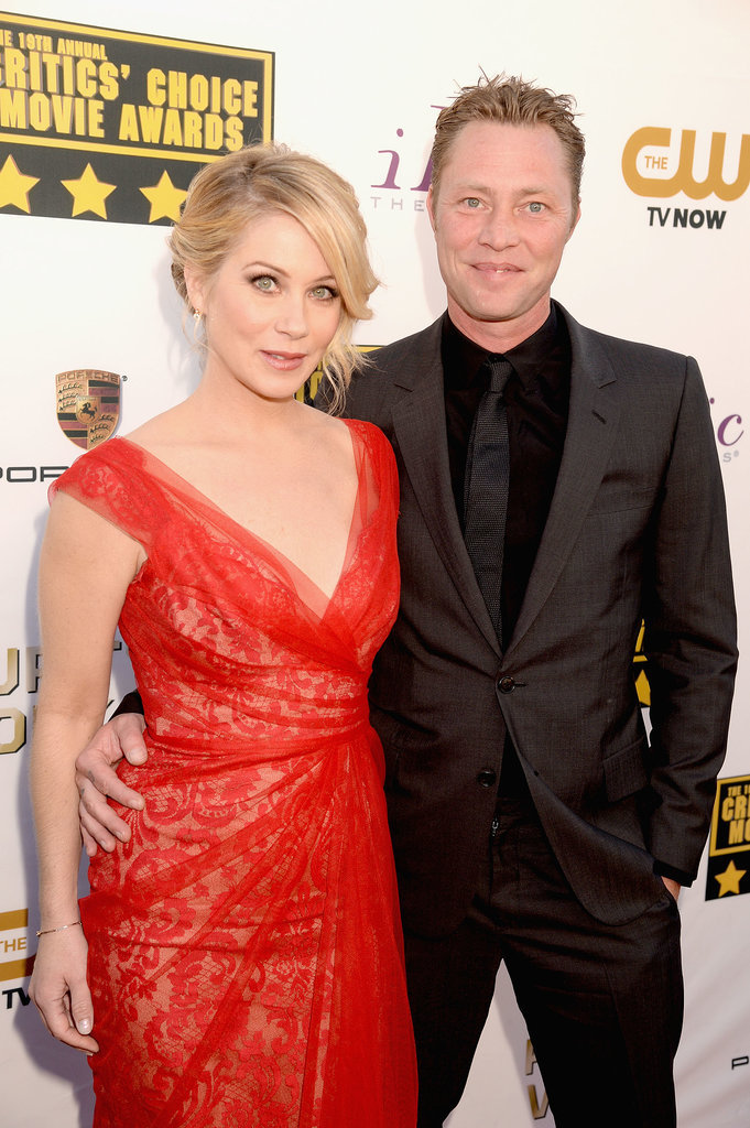 Christina Applegate and Martyn LeNoble hit the red carpet together.