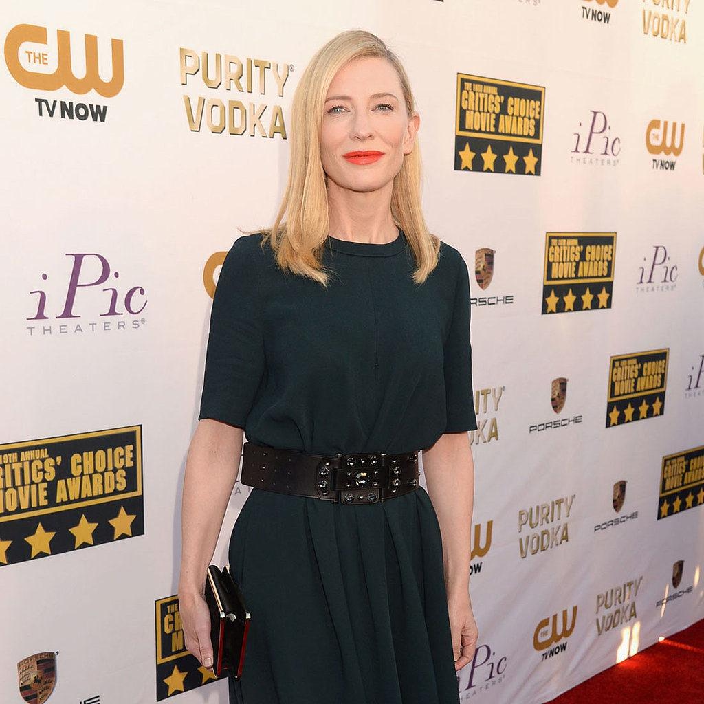 Cate Blanchett's Dress at Critics' Choice Awards 2014