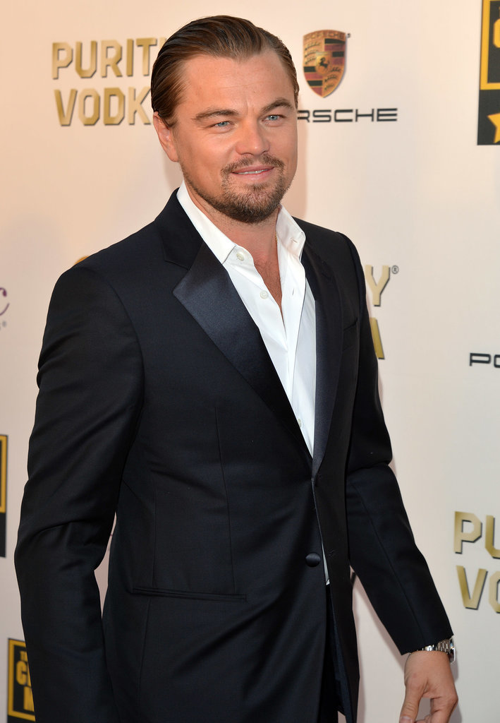 Winning Looks Good on Leonardo DiCaprio