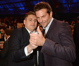 Bradley Cooper and Jonah Hill looked at a phone. But what was on it?