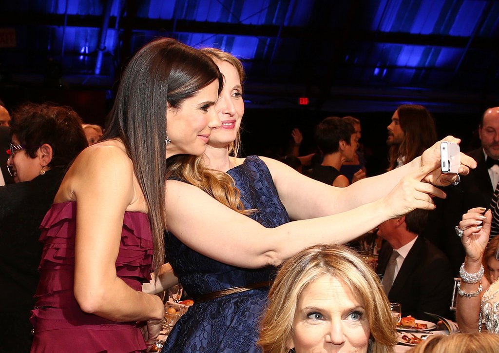 Sandra Bullock and Julie Delpy took a selfie.