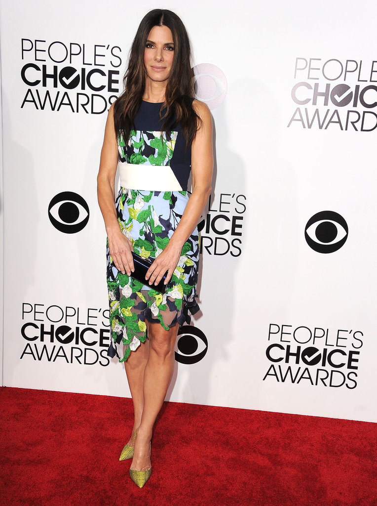 Sandra Bullock in Peter Pilotto at the People's Choice Awards