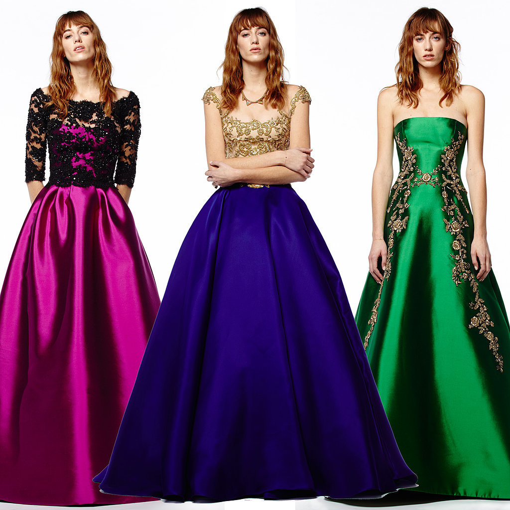 Reem Acra Pre-Fall: The Bride Wore Bright