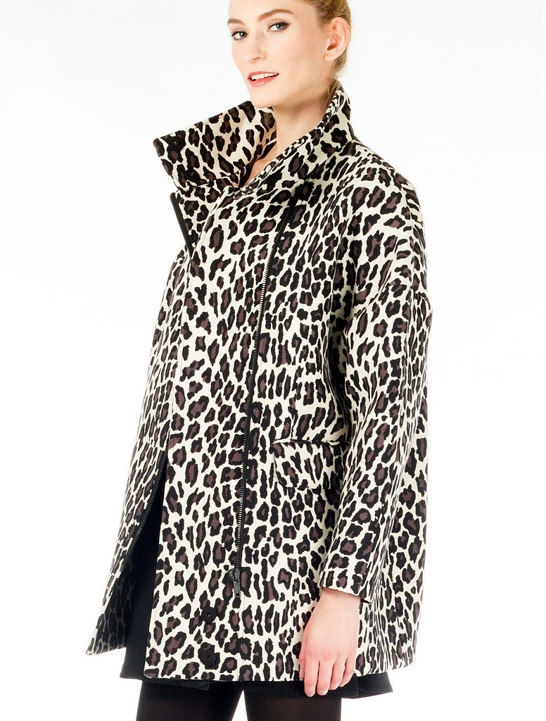 MSGM Leopard Coat ($498, originally $995)