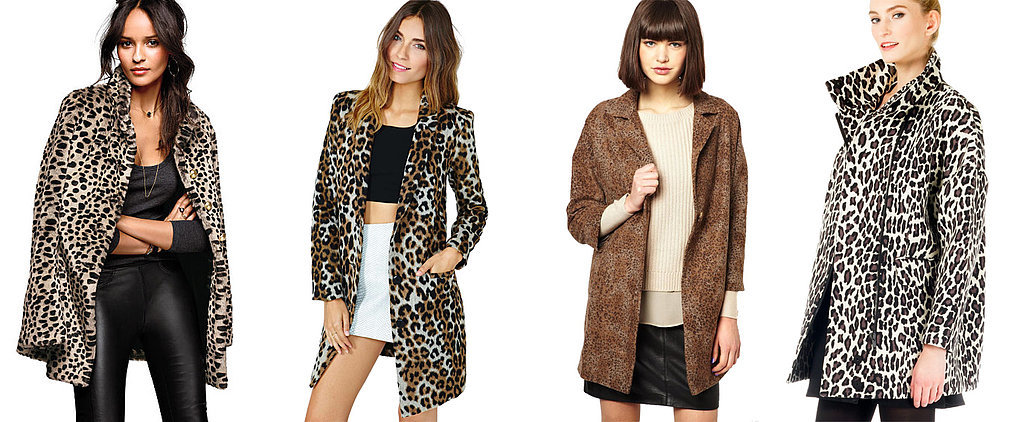 Basically Every Leopard Coat Is on Sale Right Now