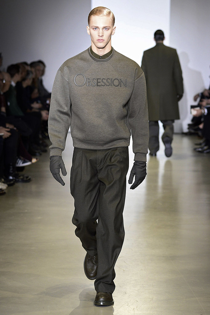 Calvin Klein Men's Fall 2014