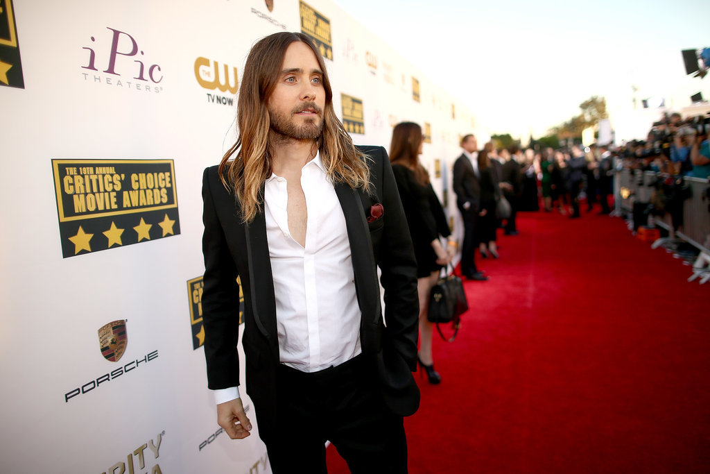 15. Jared Leto Pulls Off the Sexy Jesus Look at the Critics' Choice Awards