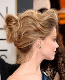 Amber Heard's texturized bun from the Golden Globes was a Pinterest-lover's dream.