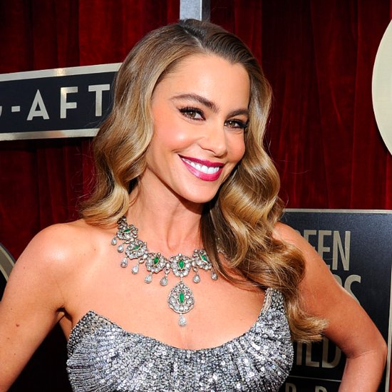 Sofia Vergara Looking Sexy at the 2014 SAG Awards